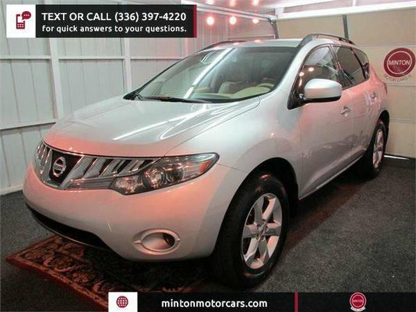 2009 *Nissan* *Murano* S AWD Easiest 1st time buyer program