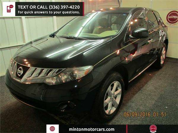 2009 *Nissan* *Murano* S Easiest 1st time buyer program