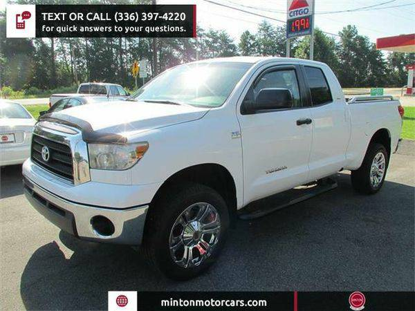 2007 *Toyota* *Tundra* SR5 Double Cab 4WD Easiest 1st time buyer...