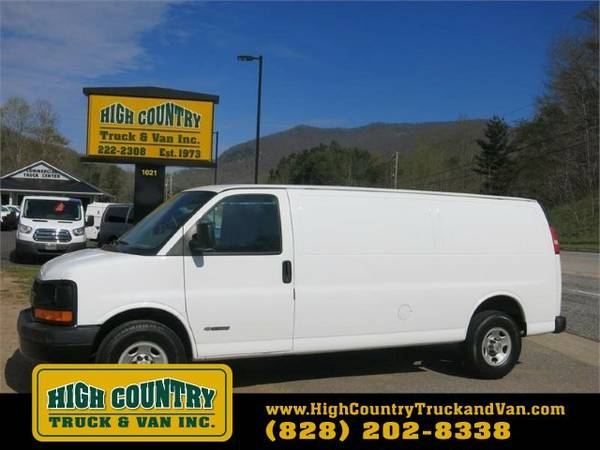 2005 Chevrolet EXPRESS G2500 EXTENDED CARGO
