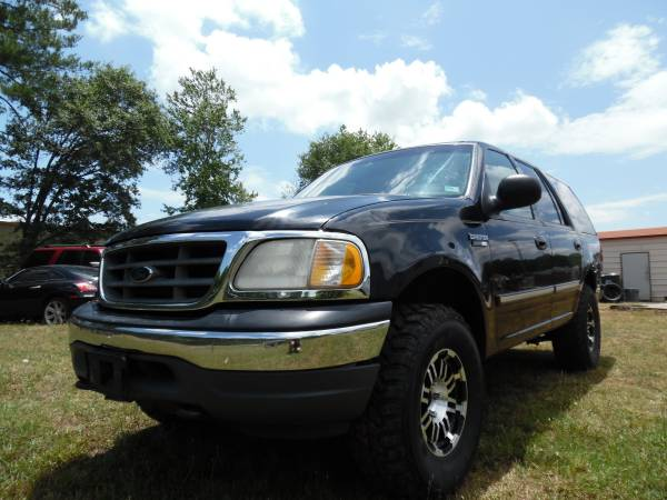 2001 ford expediction xlt big tires awd