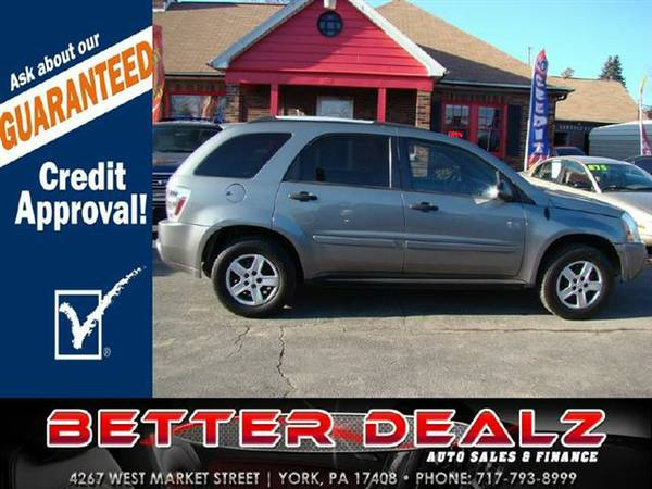 2005 Chevrolet Equinox LS AWD - (Guaranteed Credit Approval!!)