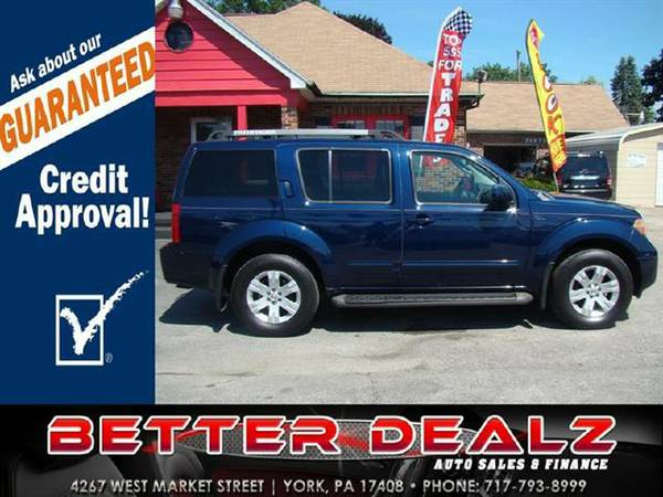 2006 Nissan Pathfinder LE 4WD - (Bad Credit? You are Approved Here!!)