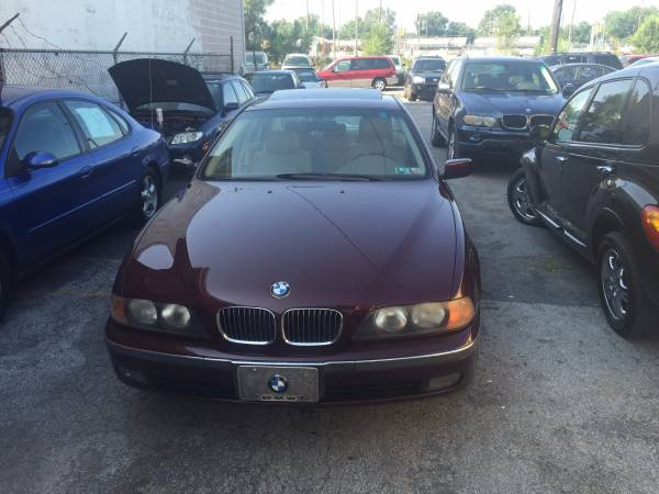 bmw 540i loaded