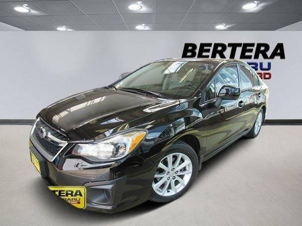 2013 *Subaru Impreza Sedan* Premium (Crystal Black Silica)