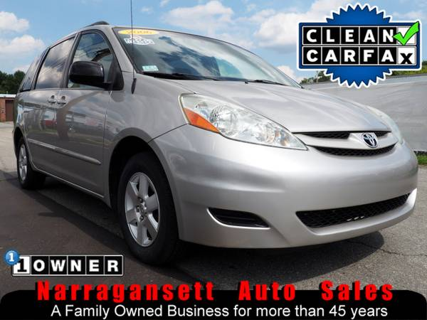 2006 Toyota Sienna LE V-6 Auto Air Fully Loaded DVD 1-Owner