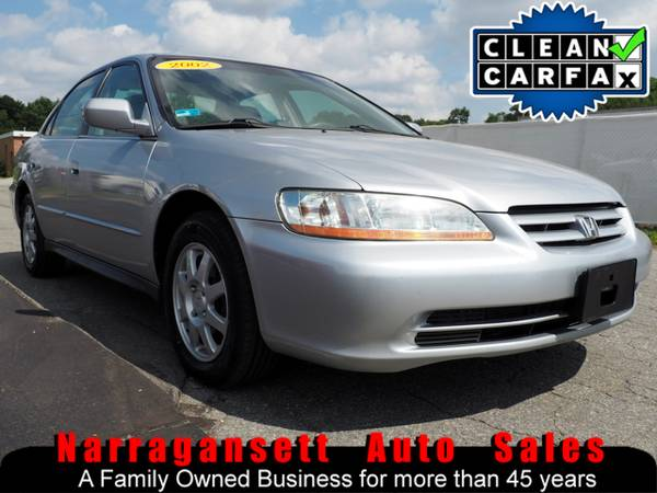 2002 Honda Accord SE Auto Air Full Power CD Moonroof Super Nice
