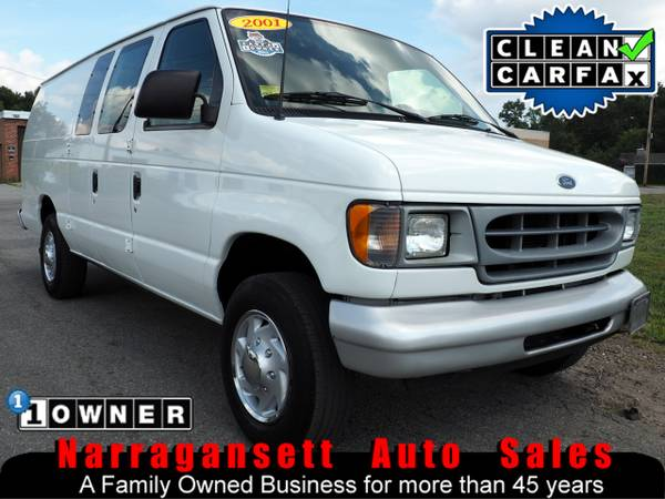2001 Ford E-250 Super Duty Extended Cargo Van V8 1-Owner 112K