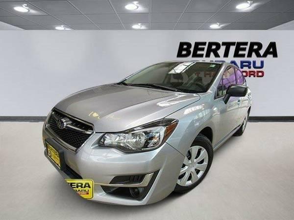 2016 *Subaru Impreza Sedan* GJB01 CVT (Ice Silver Metallic)