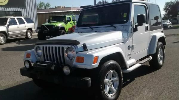 5sp Manual!! 2003 Jeep Wrangler TJ 64k MILES!! $999Down $297/mo OAC!!