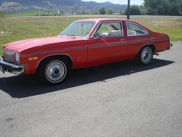 1975 Oldsmobile Omega Coupe *59k original miles*