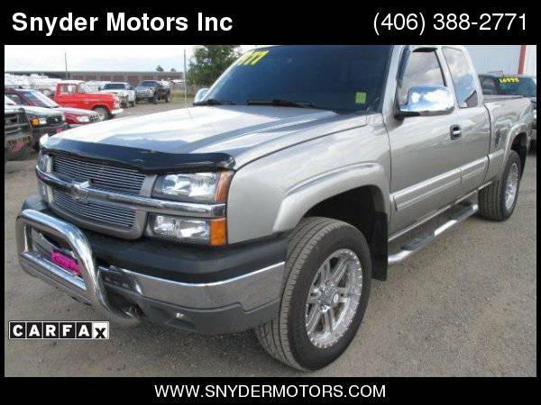 2003 Chevrolet Silverado 1500 LT Leather Loaded Rims Newer Tires Clean