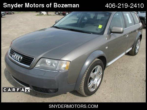 2004 Audi Allroad Quattro AWD 4dr Turbo Wagon Only 67K!