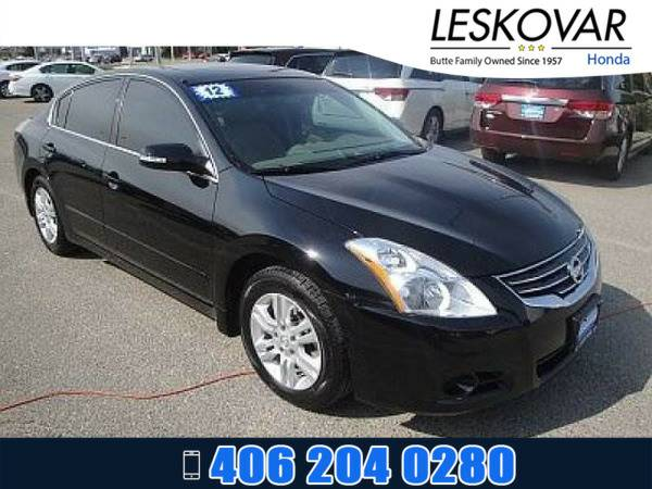 *2012* *Nissan Altima* *4dr Car 2.5 SL* *Super Black*