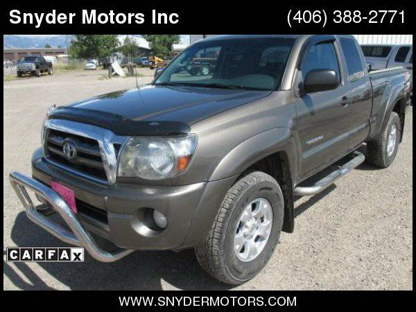 2009 Toyota Tacoma V6 4x4 4dr Access Cab TRD Offroad Clean
