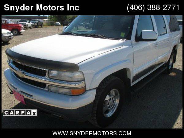 2002 Chevrolet Suburban Wholesale Vehicle 166k Clean Leather Sunroof...