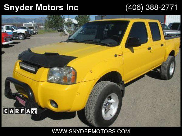 2004 Nissan Frontier 4x4 Crew Cab SUPERCHARGED!