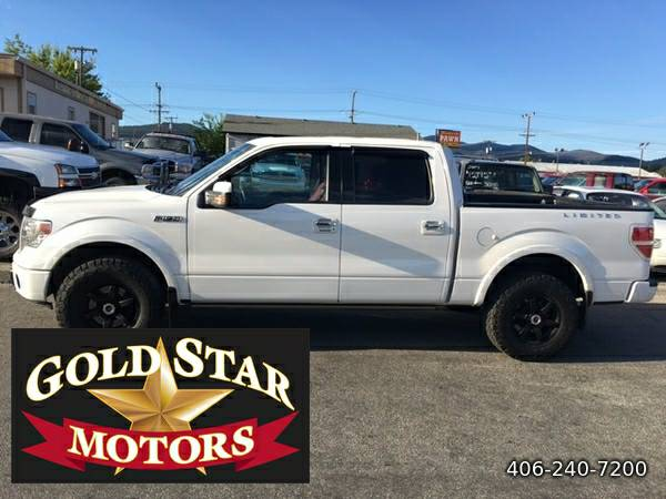 2013 FORD F-150 CREW LIMITED 4X4- ON SALE--DEALER DEMO!!