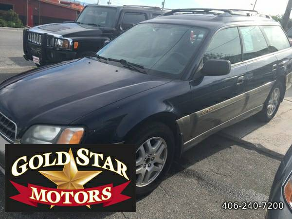 2003 SUBARU OUTBACK AWD - ONE OWNER- LOW MILES-STICK SHIFT---LOW...