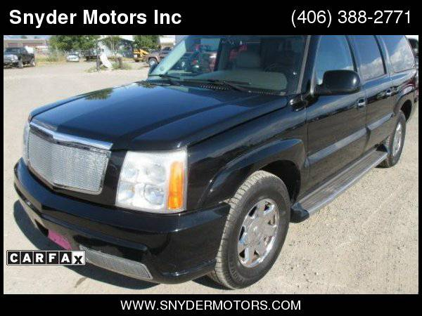2005 Cadillac Escalade ESV ONLY 97k 1 OWNER Loaded Nav, DVD,...
