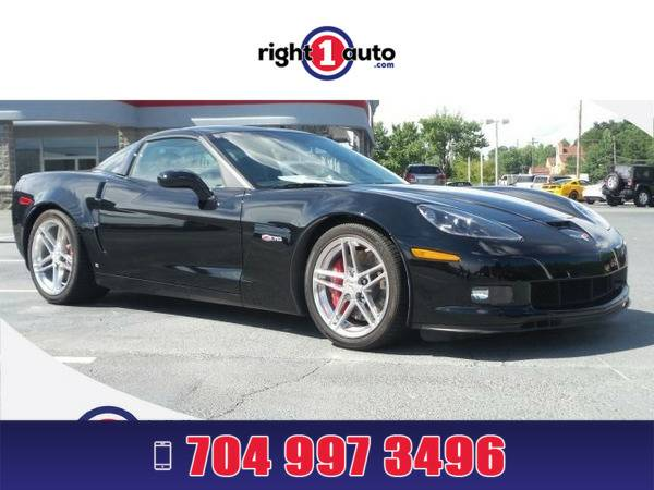 *2007* *Chevrolet Corvette* *Black*