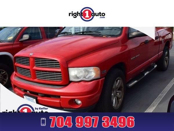 *2004* *Dodge Ram 1500* *Red*