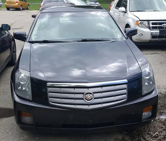 2005 Cadillac CTS--blown motor