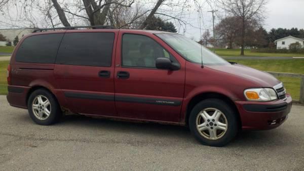 2002 Chevy Venture AWD Mini Van