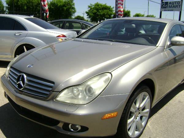 2007 MERCEDES BENZ CLS 550 GRAY