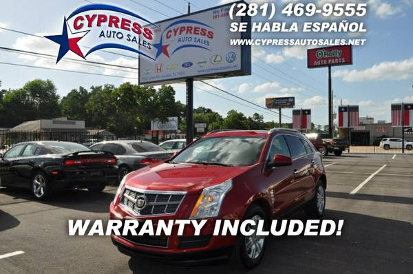 2010 Cadillac SRX LUXUY 2WD 4DR*RED
