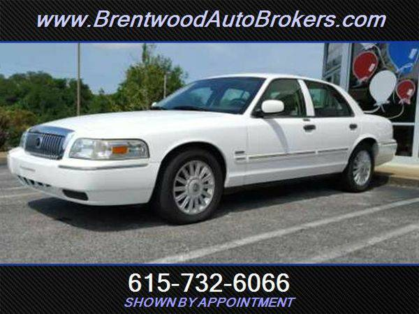 2010 *Mercury* *Grand* *Marquis* LS WE ARE THE BANK- OPEN ON SUNDAYS!