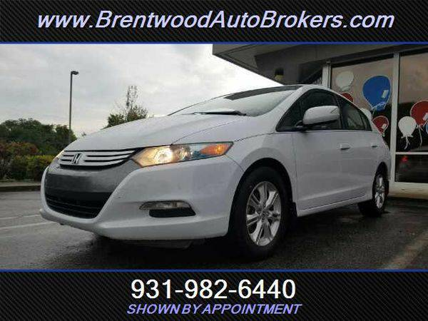 2010 *Honda* *Insight* EX WE ARE THE BANK- OPEN ON SUNDAYS!