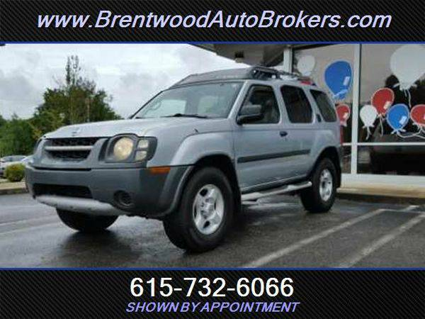 2003 *Nissan* *Xterra* XE-V6 WE ARE THE BANK- OPEN ON SUNDAYS!