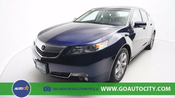 2013 Acura TL 2WD Automatic with Technology Package Sedan TL Acura