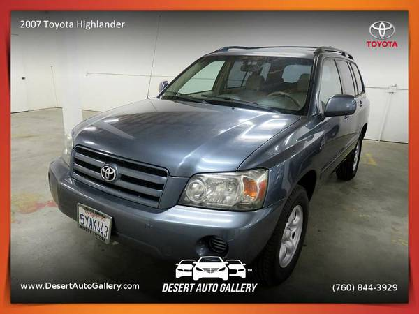 This 2007 Toyota Highlander SUV is PRICED TO SELL!