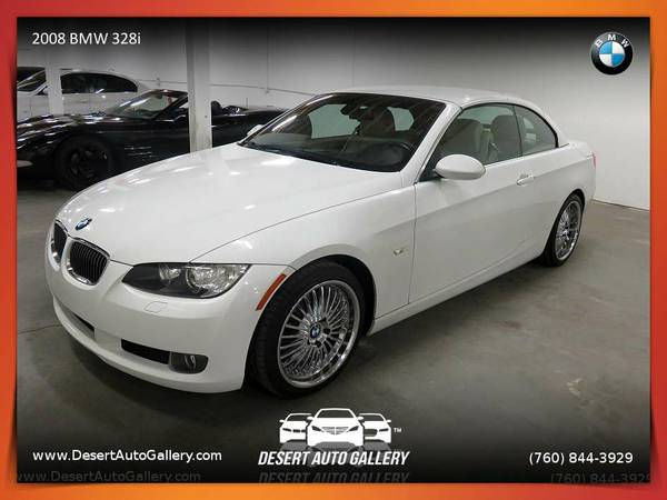 2008 BMW 328i Convertible with a GREAT COLOR COMBO!
