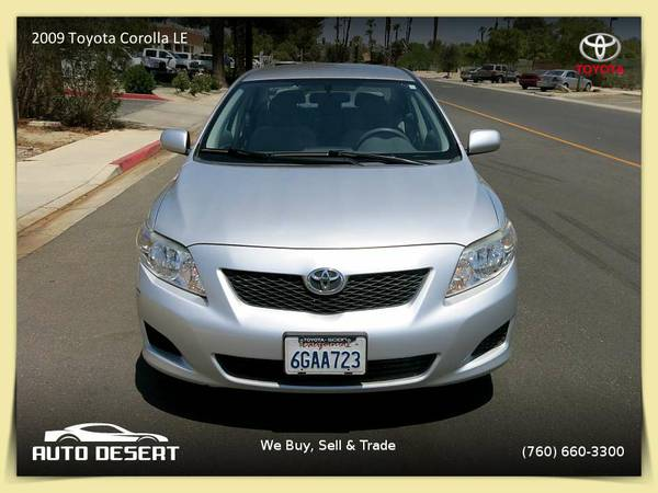The BEST 2009 Toyota Corolla LE $9,470 or $100 per month
