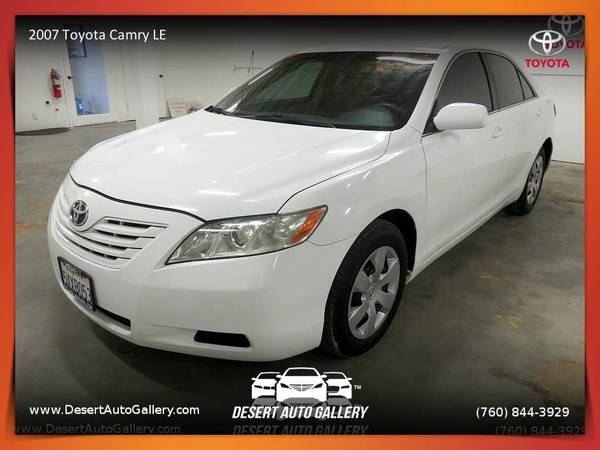 2007 Toyota Camry LE Sedan FOR SALE. Trades Welcome!