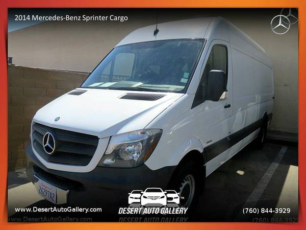 2014 Mercedes-Benz Sprinter Cargo Vans EXT Van/Minivan at a DRAMATIC...