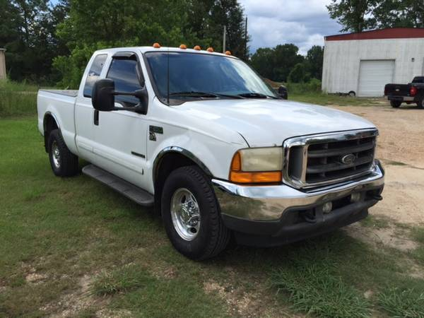 2001 Ford F250 Supercrew Lariat 7.3L Diesel!