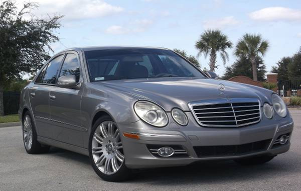 2007 Mercedes Benz E Series FULLY LOADED
