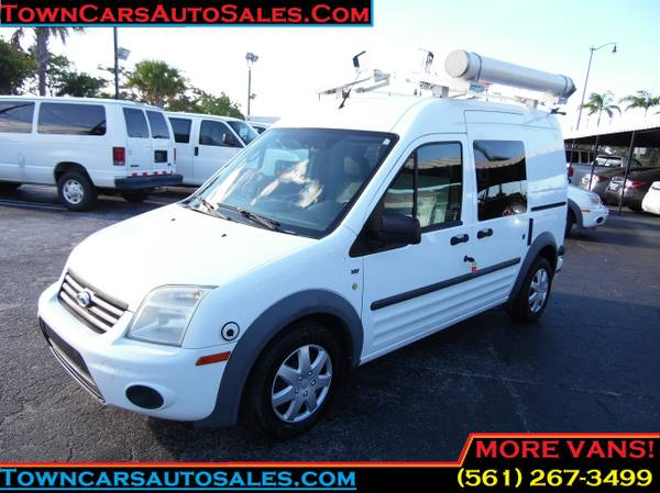 2012 Transit Cargo Van *LADDER/PIPE RACKS* Ford Transit XLT Cargo Van