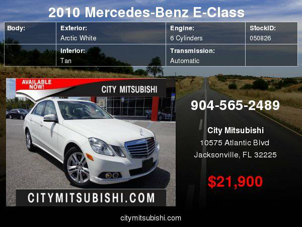 2010 Mercedes-Benz E-Class E350 Luxury ***Easy Financing!!