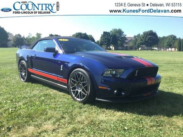 2012 *Ford Mustang* Shelby GT500 - Blue