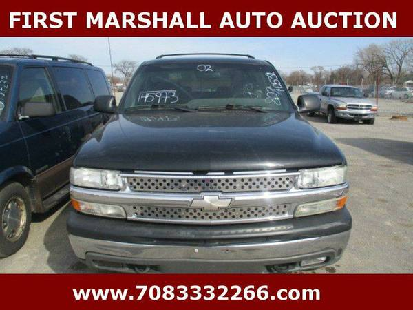 2002 Chevrolet Suburban 1500 LS 4WD 4dr SUV - First Marshall Auto...