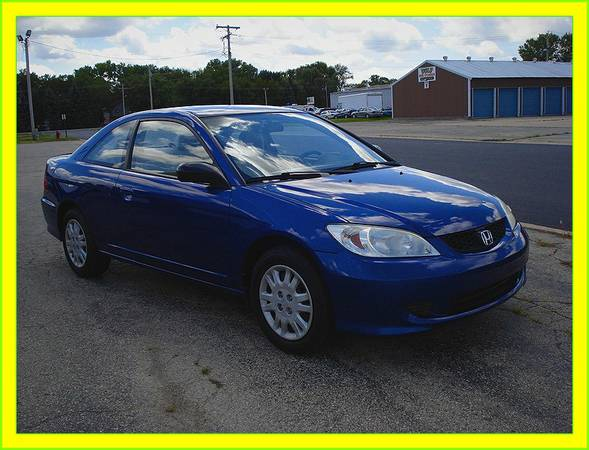 Cool car!! {{2005}} HONDA CIVIC, coupe, 34 mpg, ==>>