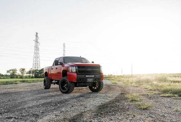 08 Silverado 2500 DSL Crew Cab 4x4 Z71 7 Lift 20 FUEL *LOOK*