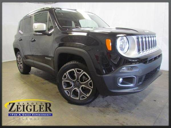 2016 *Jeep Renegade* Limited - Black