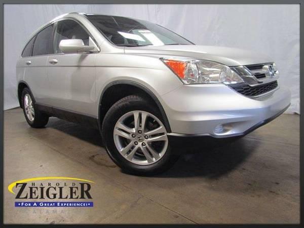 2010 *Honda Cr-V* EX-L - Silver