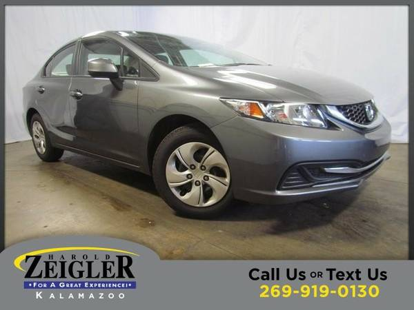 2013 Honda Civic LX Sedan Civic Honda